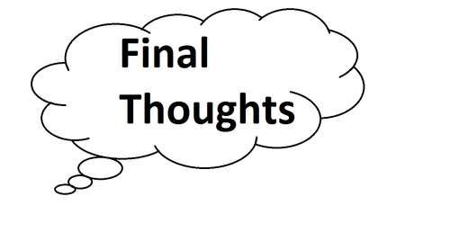 finalthoughts