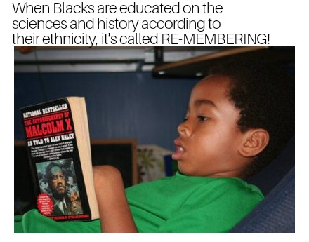 black boy malcolm x meme